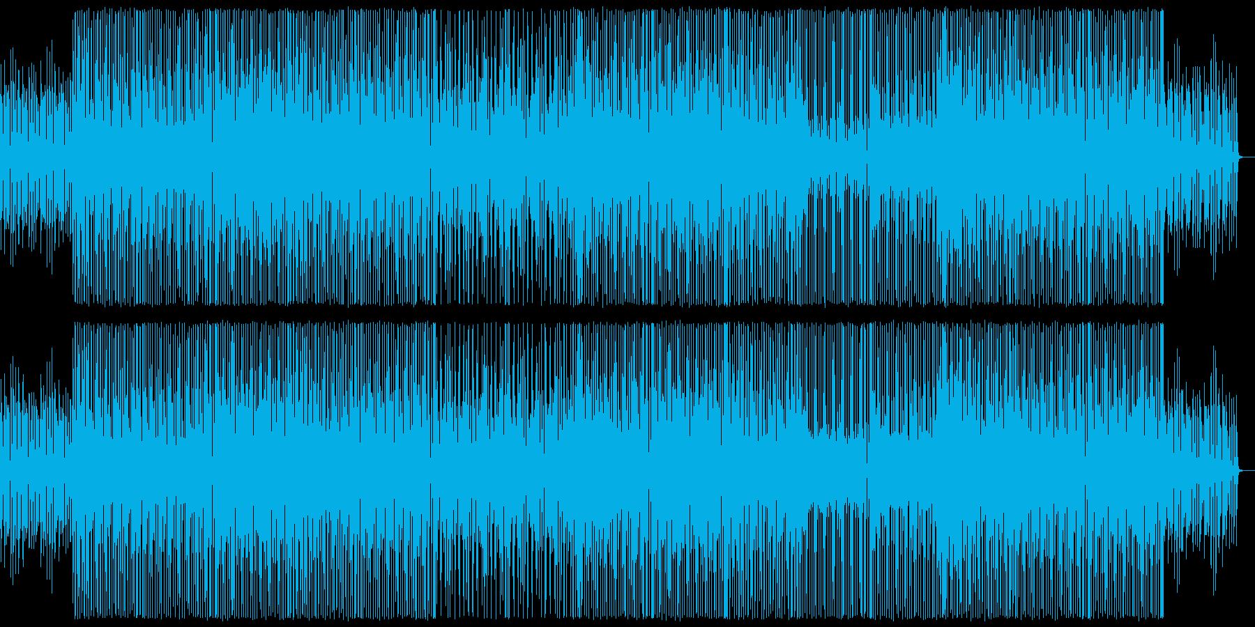 【ブラス抜き】小気味良いリズムの軽快なブの再生済みの波形