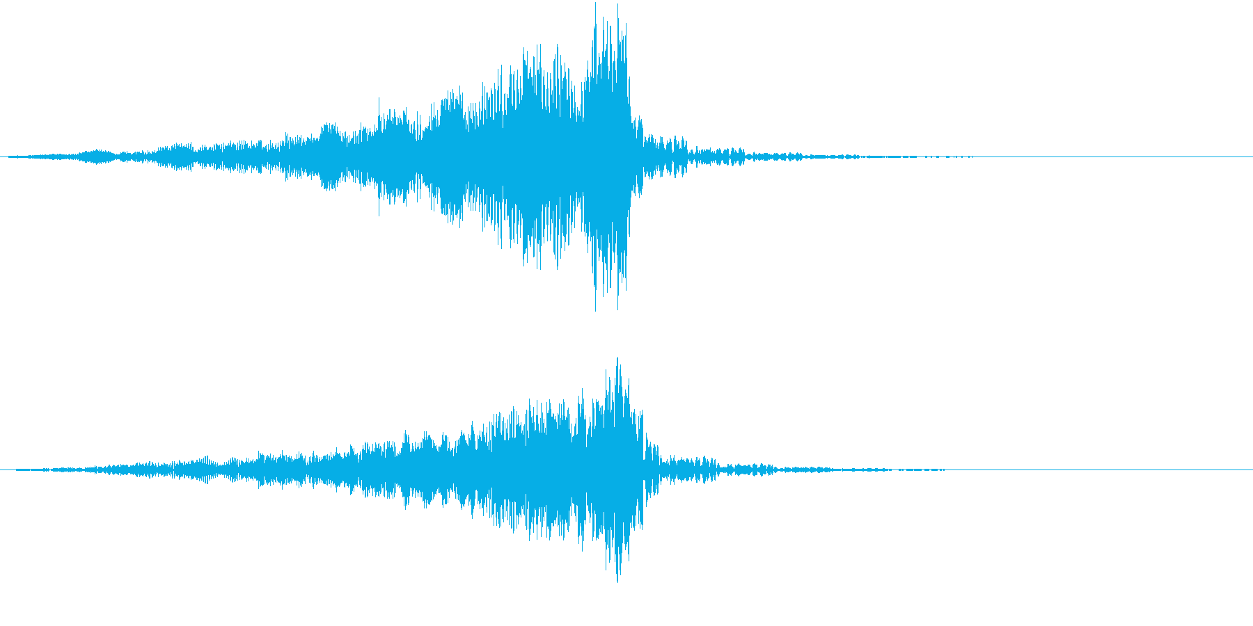 宇宙のミステリーが繰り広げられるイメージの再生済みの波形