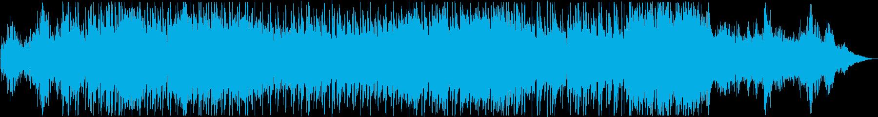 四季を感じさせる美しい琴のバラードの再生済みの波形