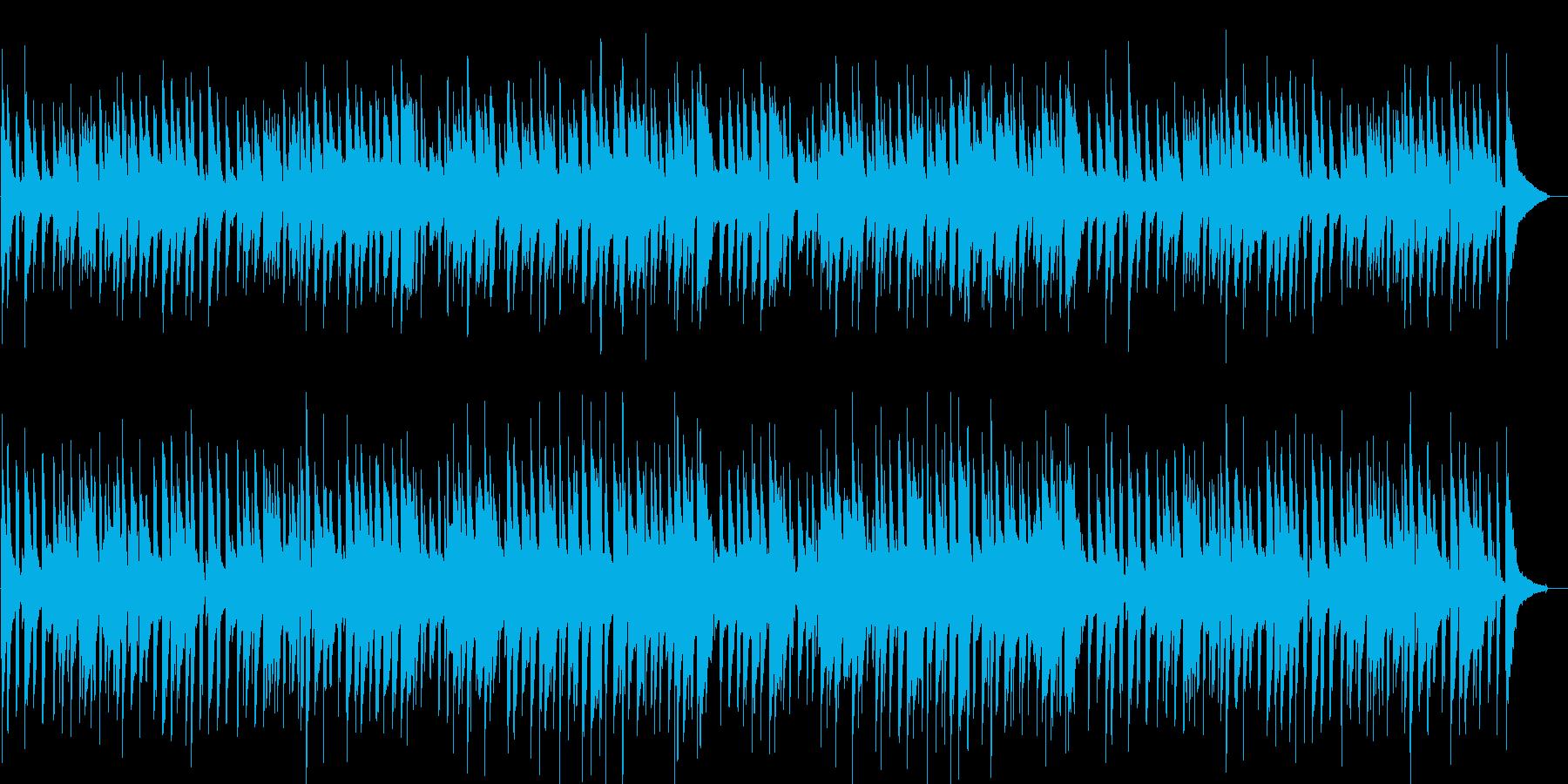 ほのぼの・リラックス・ボサノバ・ギターの再生済みの波形