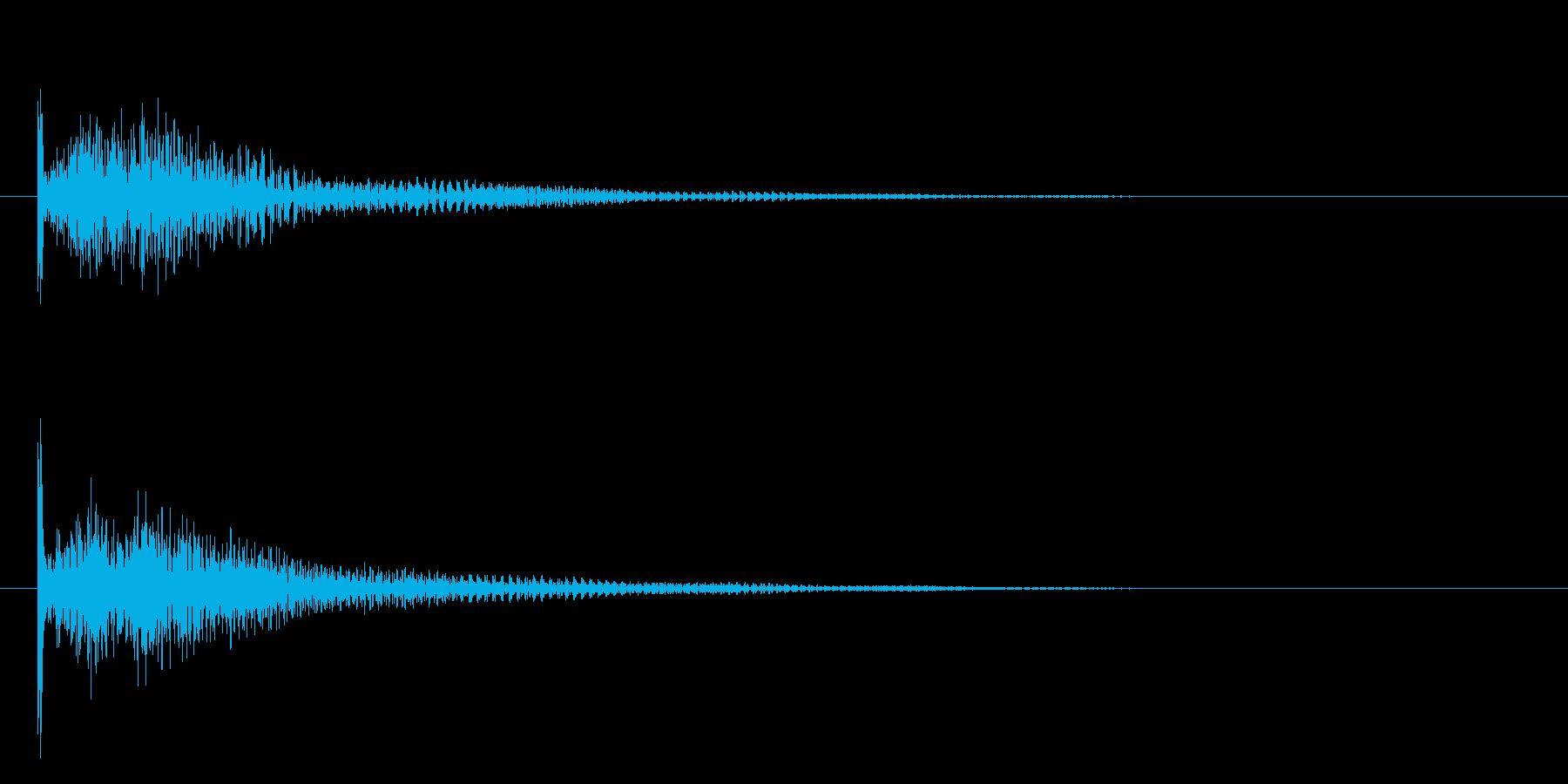 ディロンの再生済みの波形