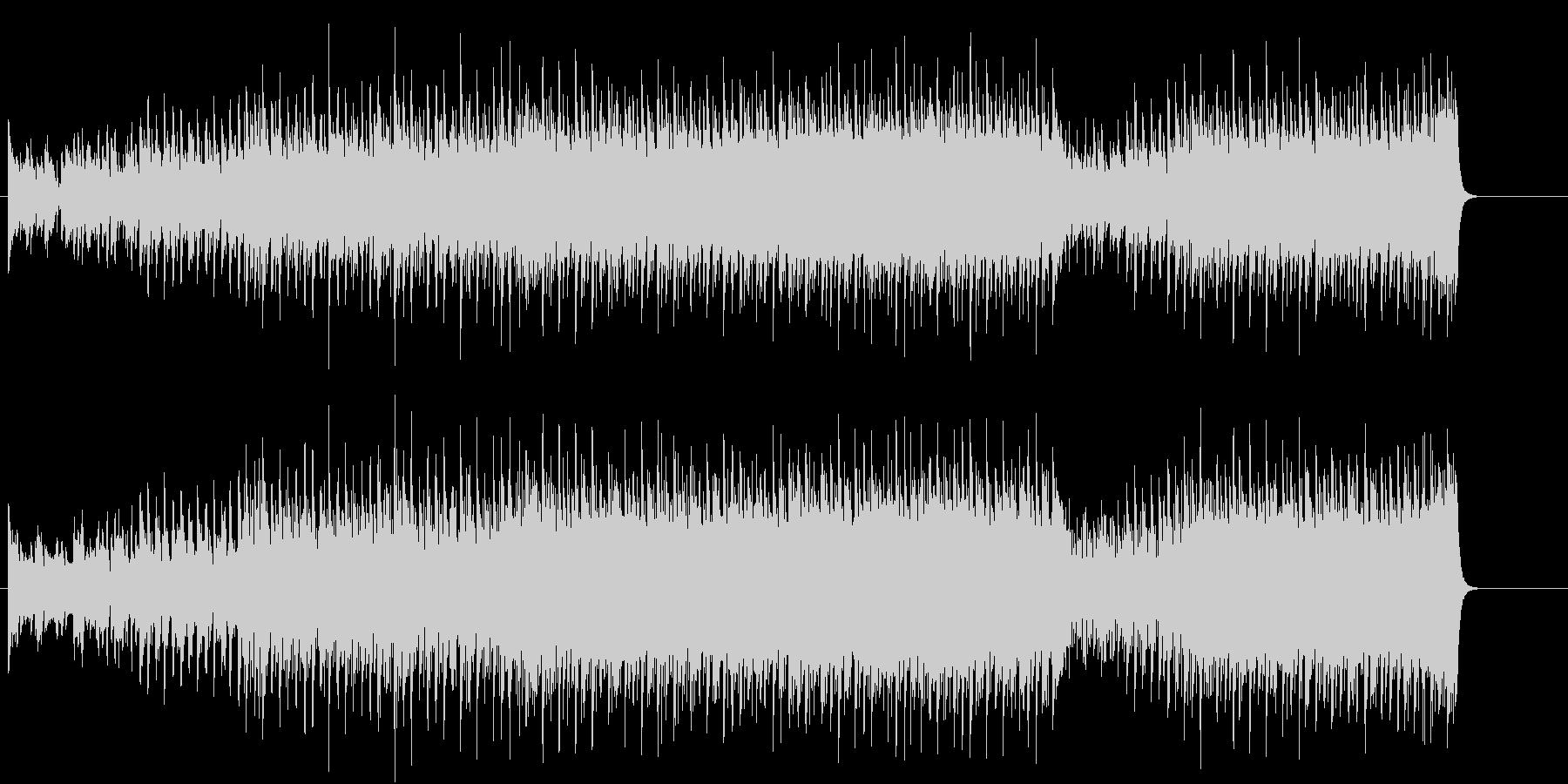 ダンサブルビートが効いたハイパーポップの未再生の波形