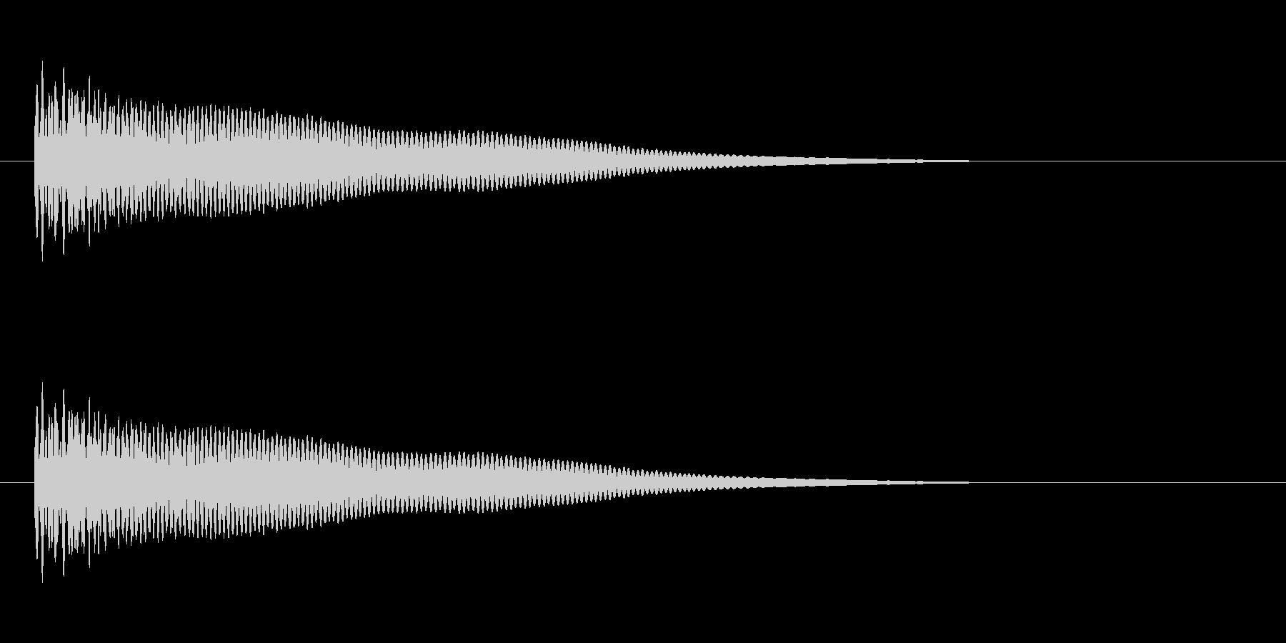 【光る05-1】の未再生の波形