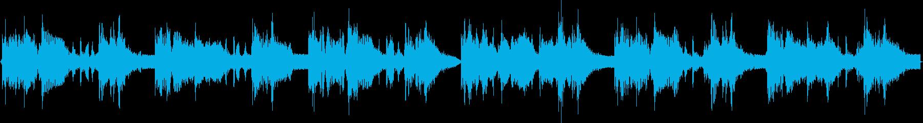 短い曲ですがループするとクセになりますの再生済みの波形