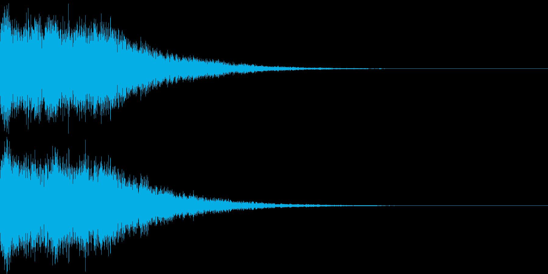 魔法音05_Aの再生済みの波形
