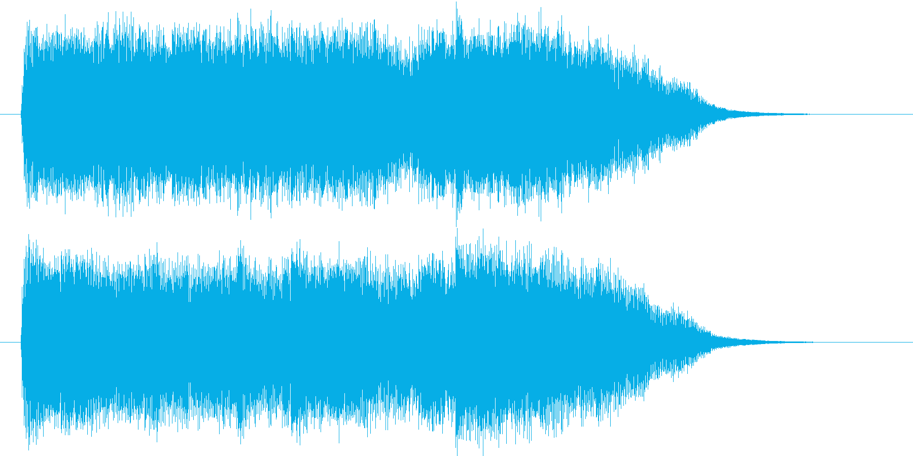 優雅でメロディアスなクラシックジングルの再生済みの波形
