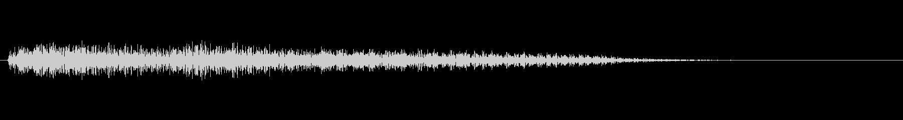 ピアノ SE05の未再生の波形