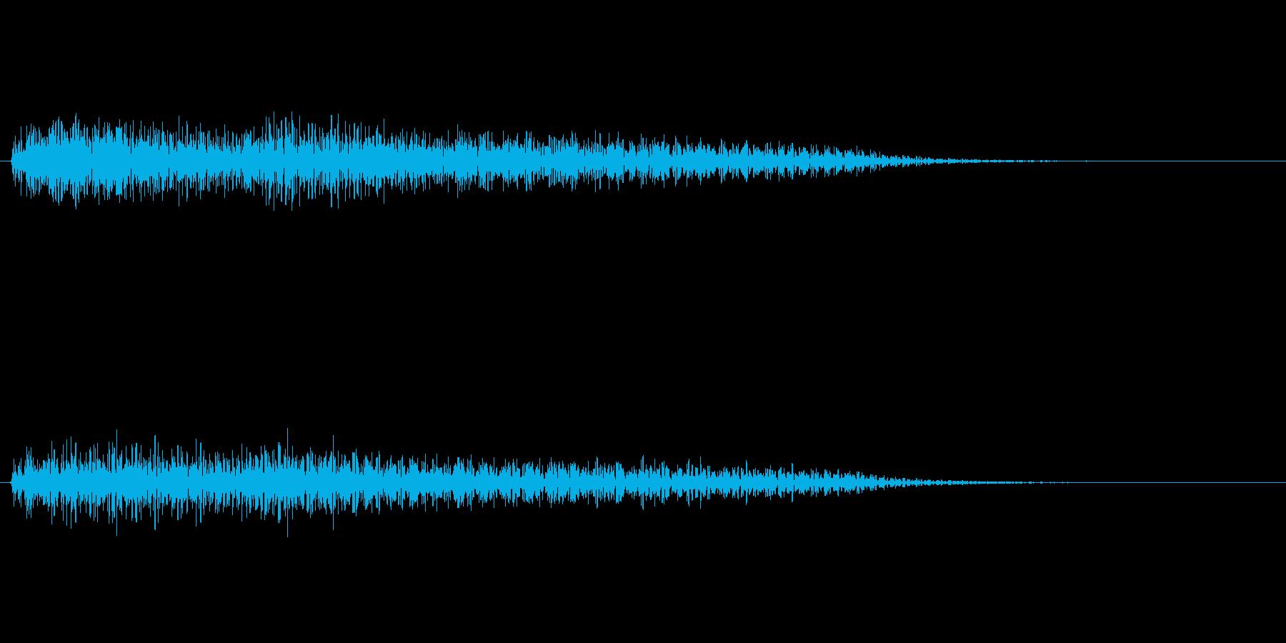 ピアノ SE05の再生済みの波形