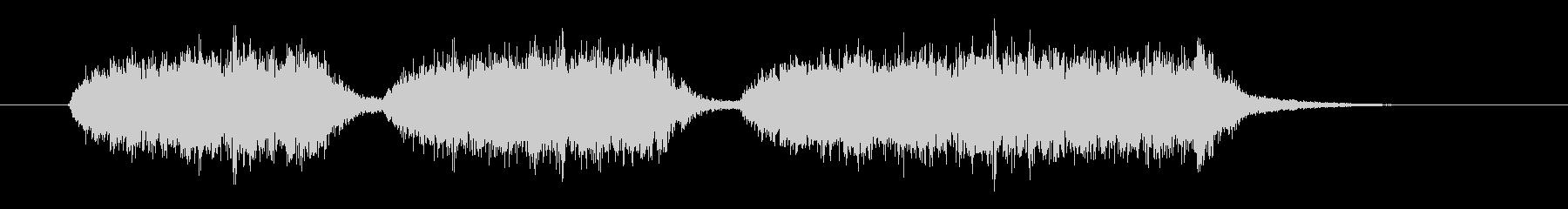 起立・気をつけ・礼(合唱版)の未再生の波形