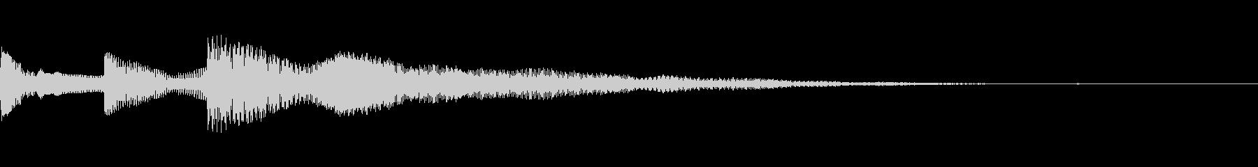 ピコッ(環境設定_環境設定の項目03)の未再生の波形