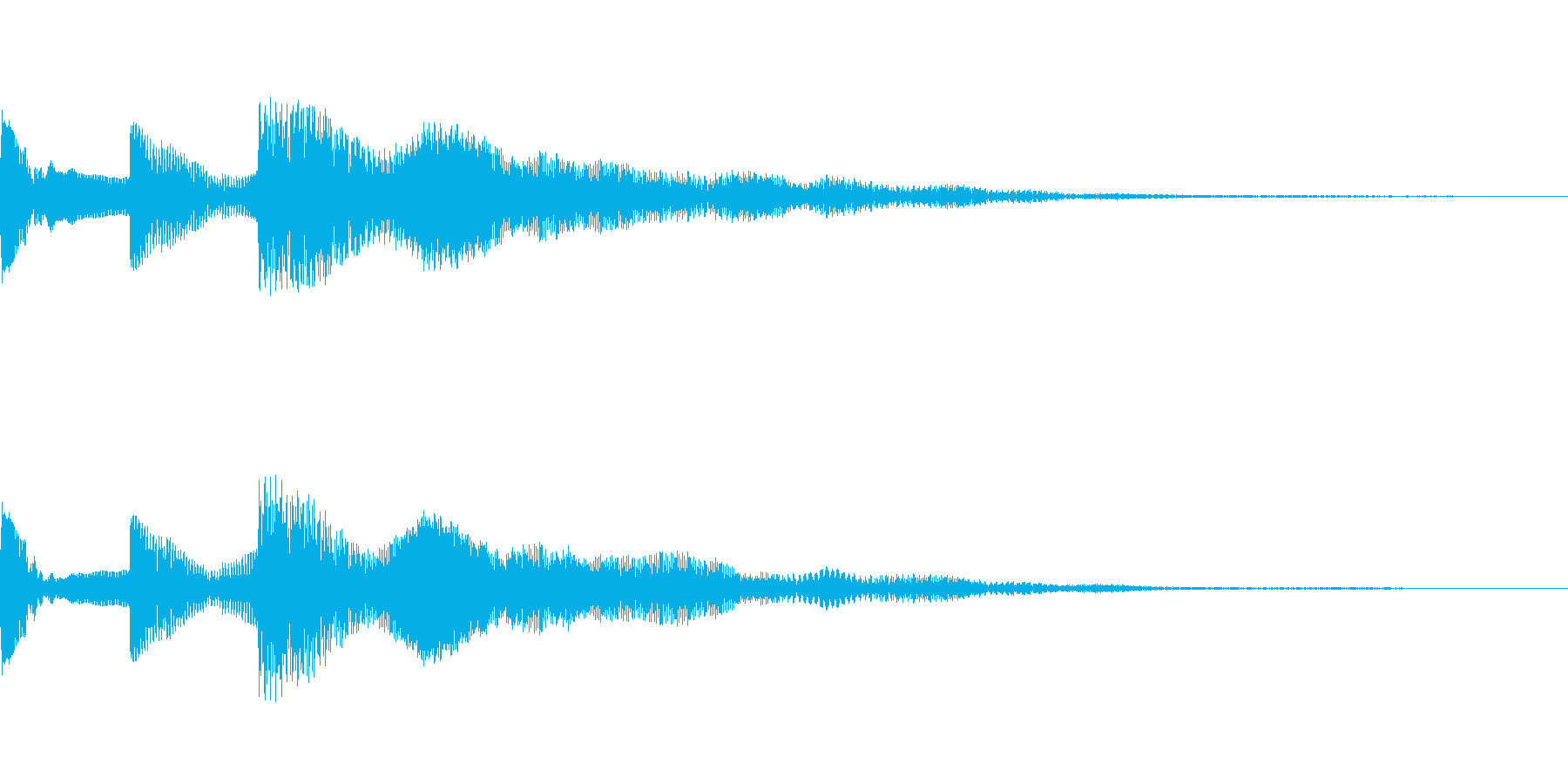 ピコッ(環境設定_環境設定の項目03)の再生済みの波形