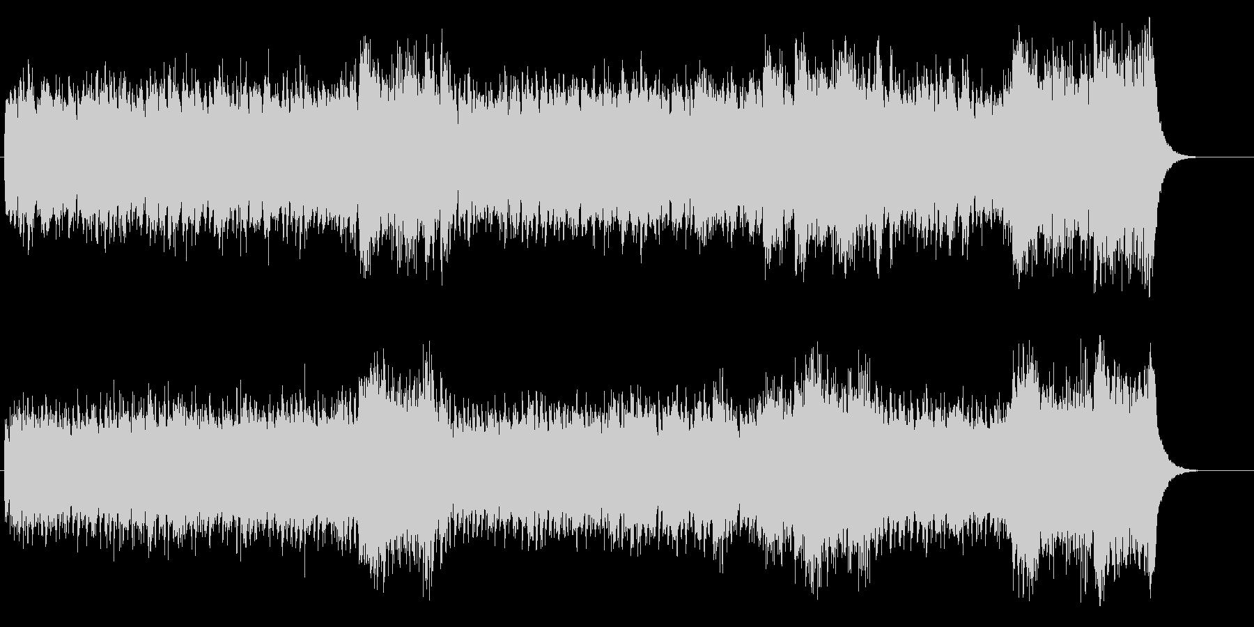 環境音楽(控えめでサイコ・チック)の未再生の波形