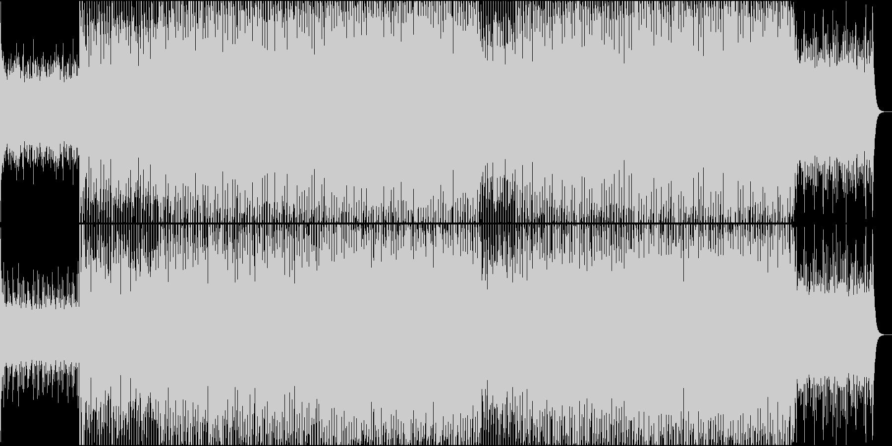EDMクラブ系、製品紹介、商品紹介-05の未再生の波形