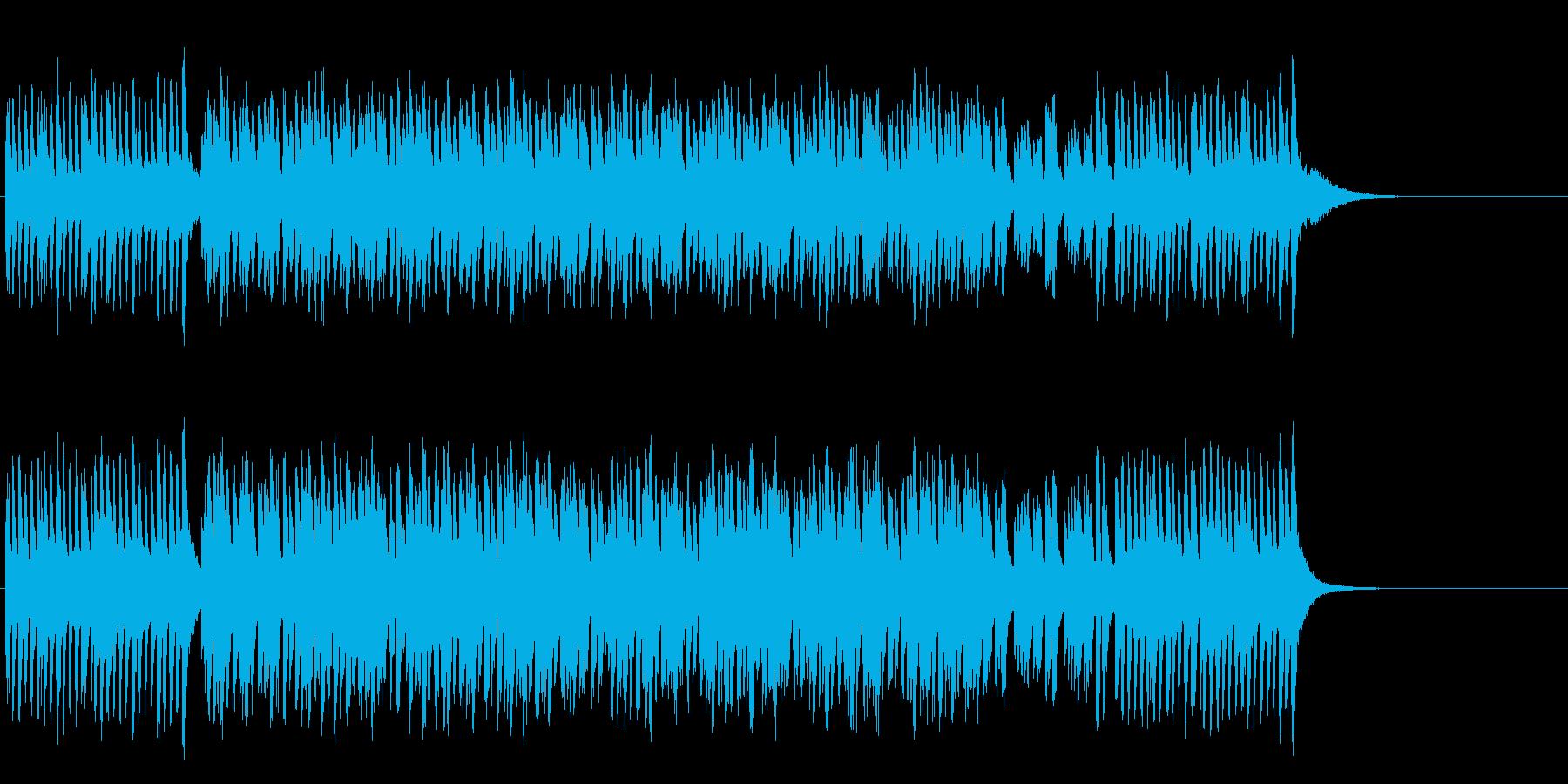 ユーモラスな中華コミカルポップの再生済みの波形