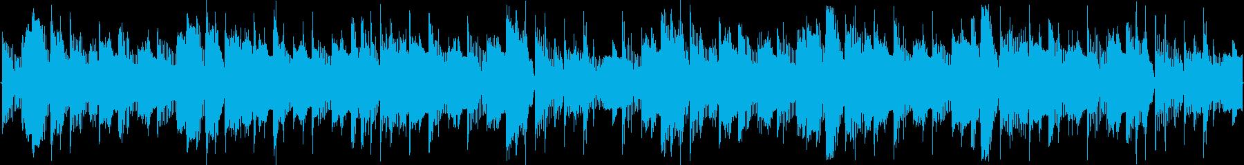 ごく短い、かわいくてポップなループBGMの再生済みの波形