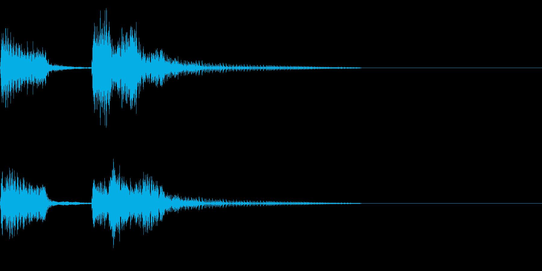 チャンチャン♪お笑いのオチ 効果音!11の再生済みの波形
