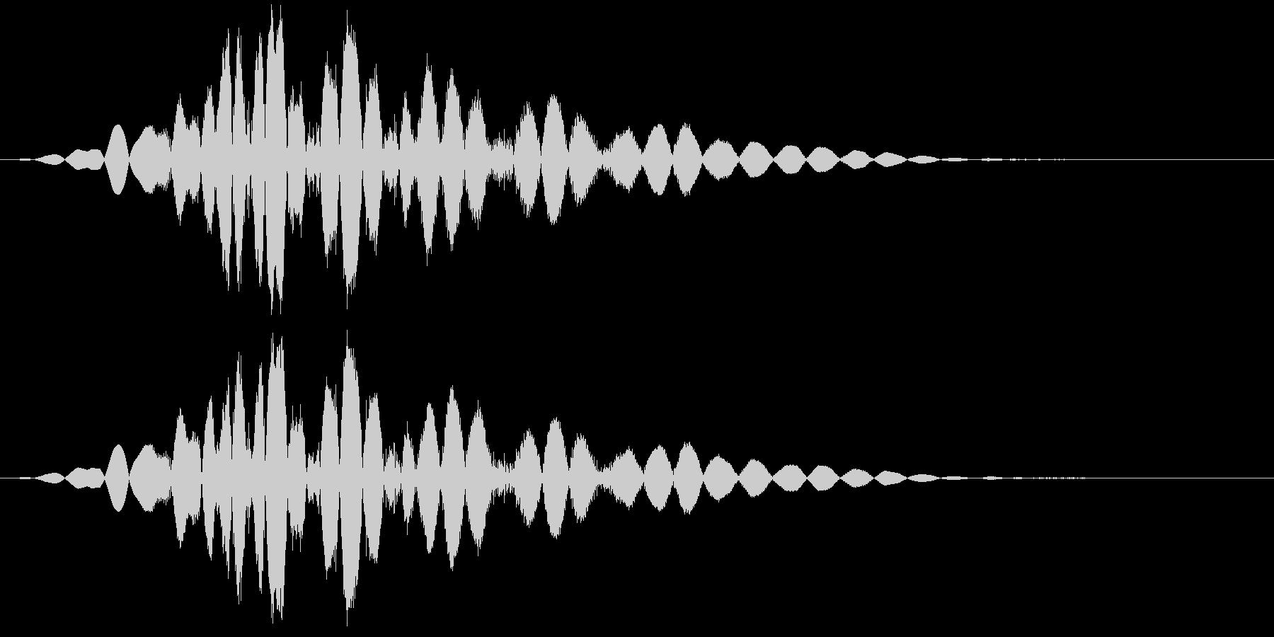 KAKUGE 格闘ゲーム戦闘音 66の未再生の波形