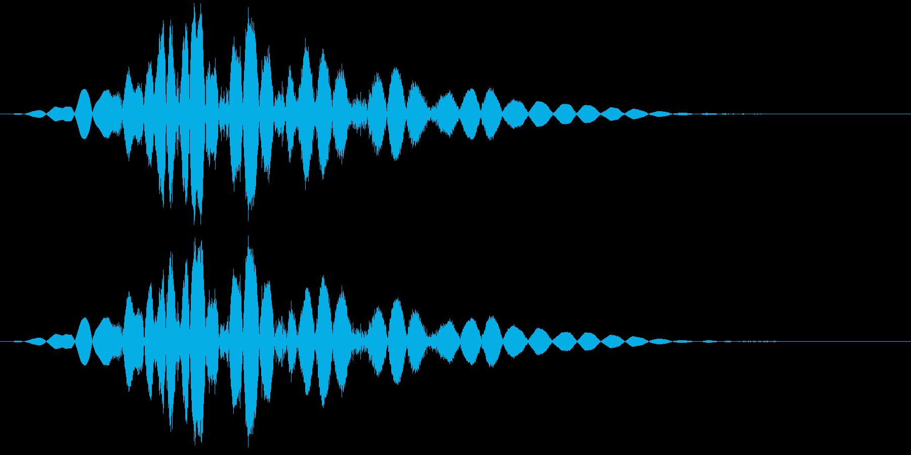 KAKUGE 格闘ゲーム戦闘音 66の再生済みの波形