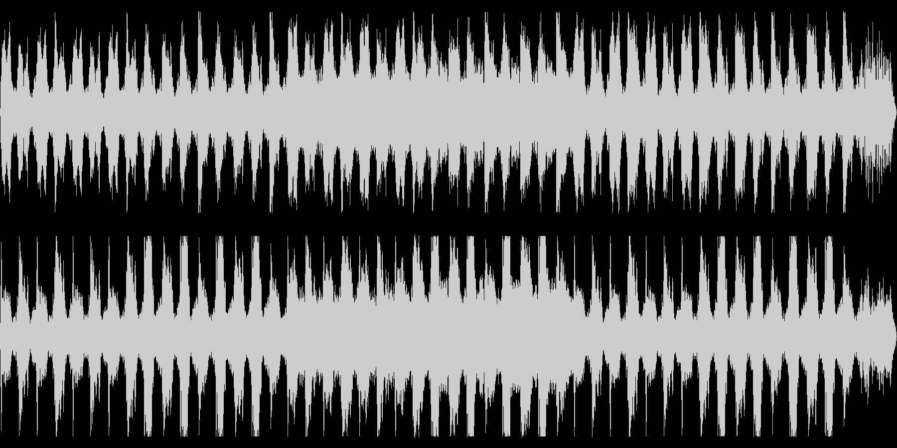 おどろおどろしい行進曲(ループ可)の未再生の波形