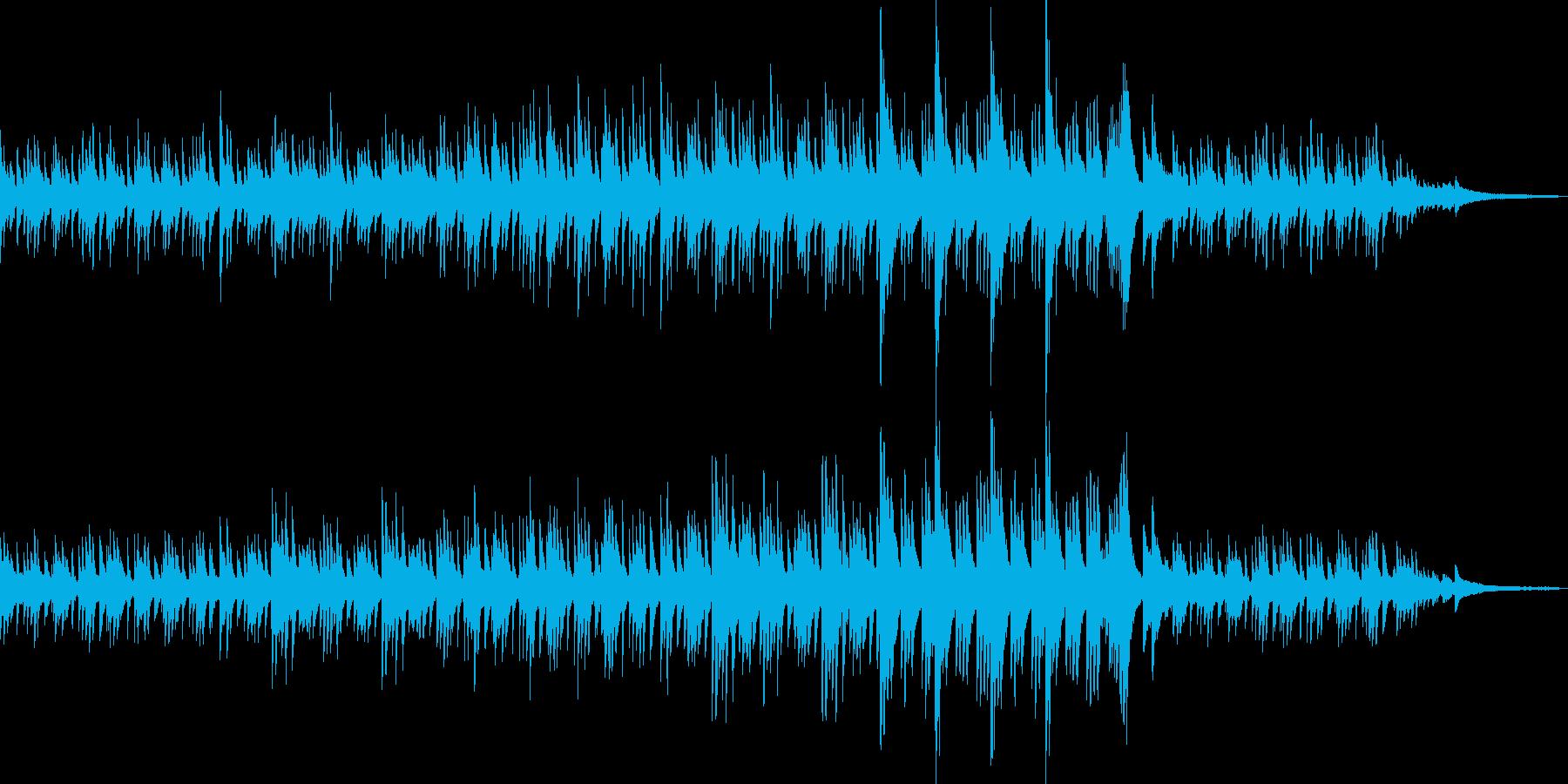 透明感のあるピアノソロBGM_02の再生済みの波形