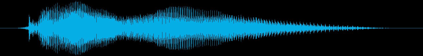 ゴーの再生済みの波形