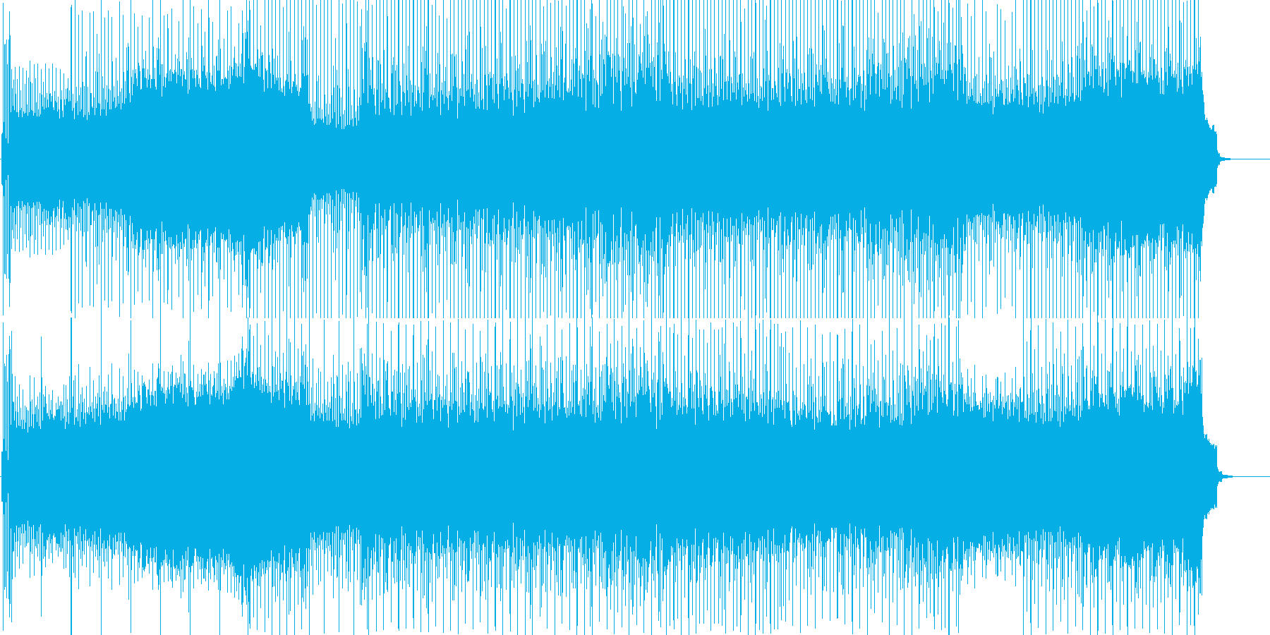 さわやか 休日 アウトドア ドライブの再生済みの波形