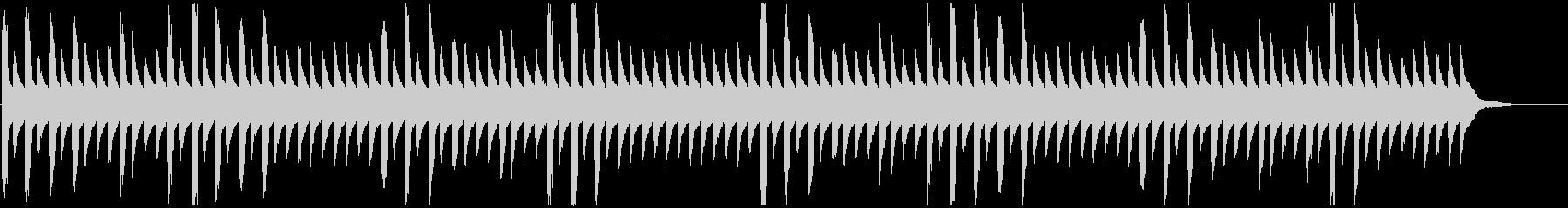 パズル・クエスト等向けエレクトロ曲の未再生の波形