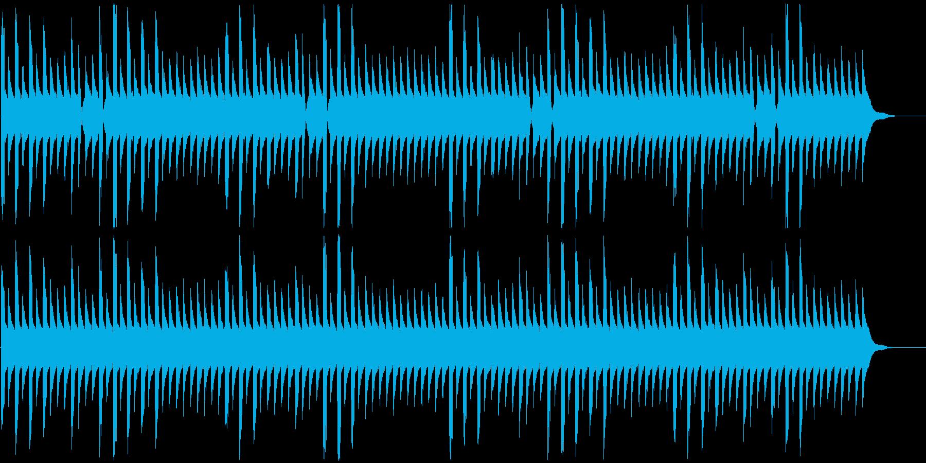 パズル・クエスト等向けエレクトロ曲の再生済みの波形