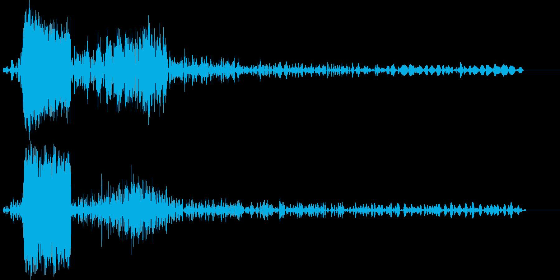 ギーグァーグオー (怪獣の鳴き声)の再生済みの波形