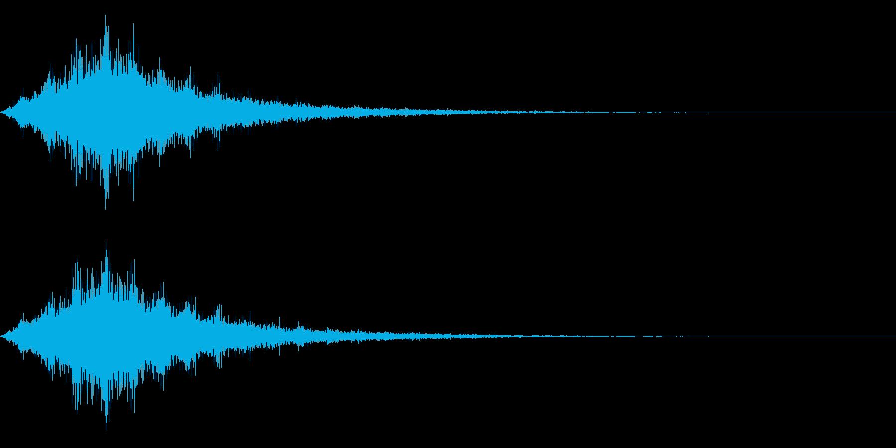 ワープ、SF、効果の再生済みの波形