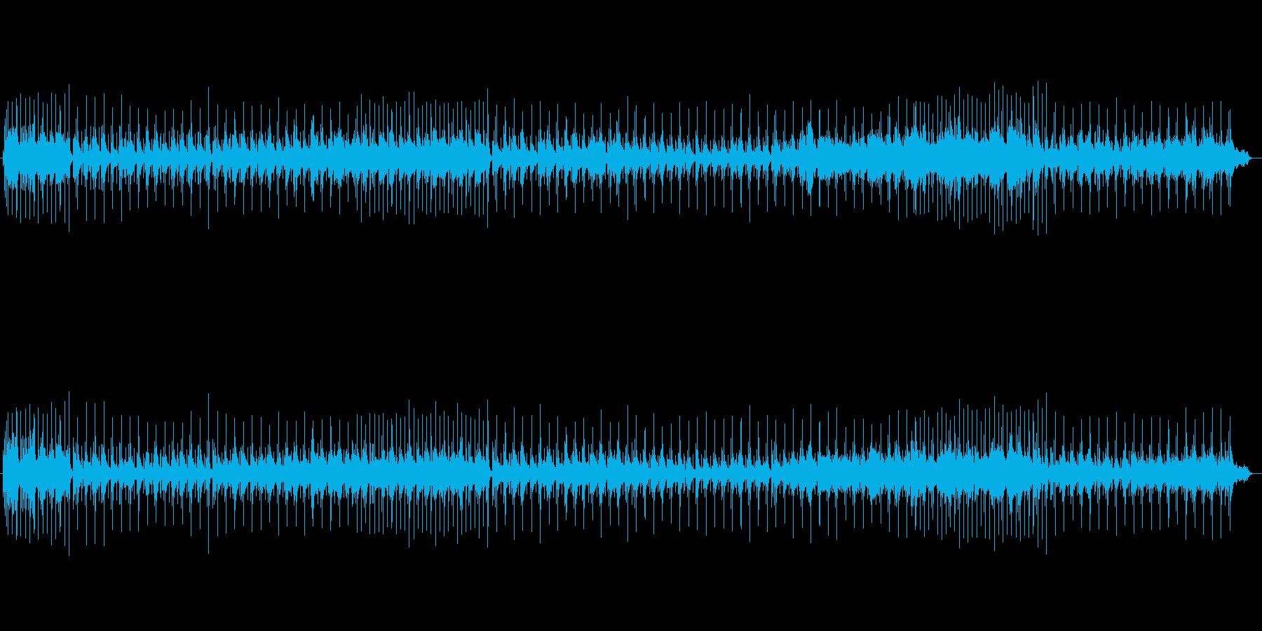 おしゃれなスロー・バラードの再生済みの波形