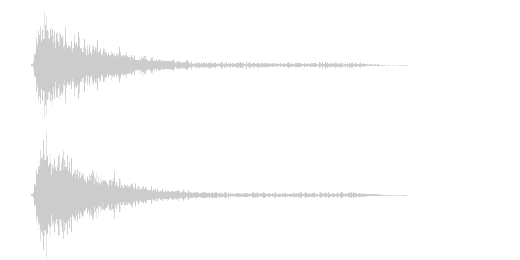 ジャ(ロボ、スチーム、装置)の未再生の波形
