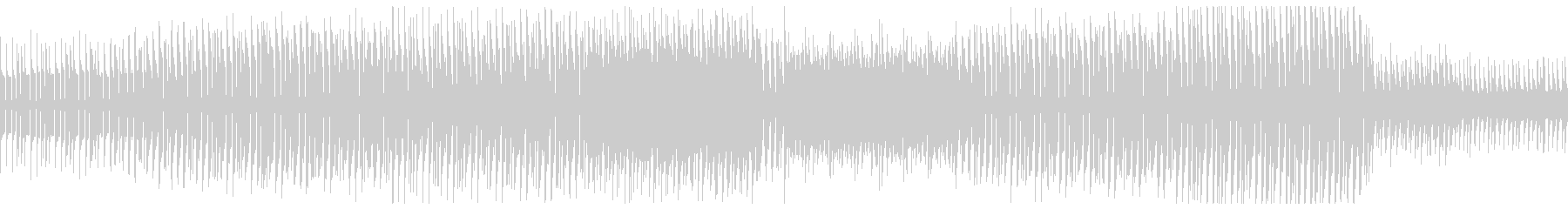 ビリビリしたシンセが特徴的なエレクトロの未再生の波形