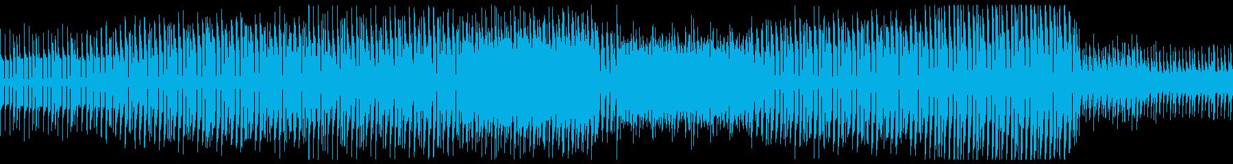 ビリビリしたシンセが特徴的なエレクトロの再生済みの波形
