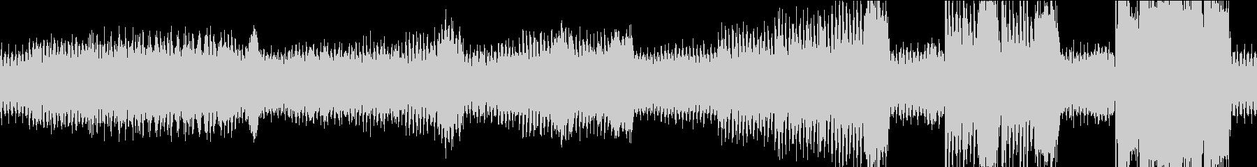 ワクワクしてくるBGM2 ループ版の未再生の波形