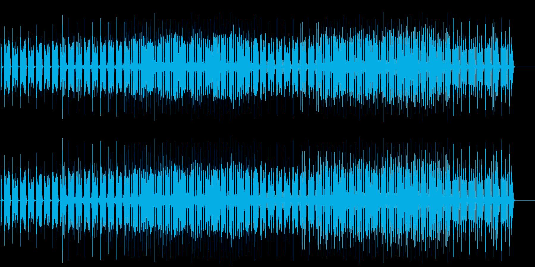 動物を観察する怪しいマイナーテクノポップの再生済みの波形