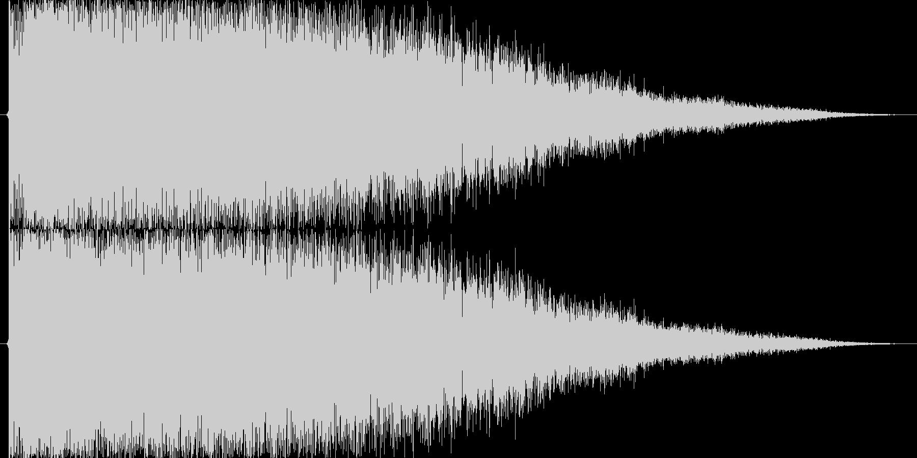 強_チャンスブラス系SE_01の未再生の波形