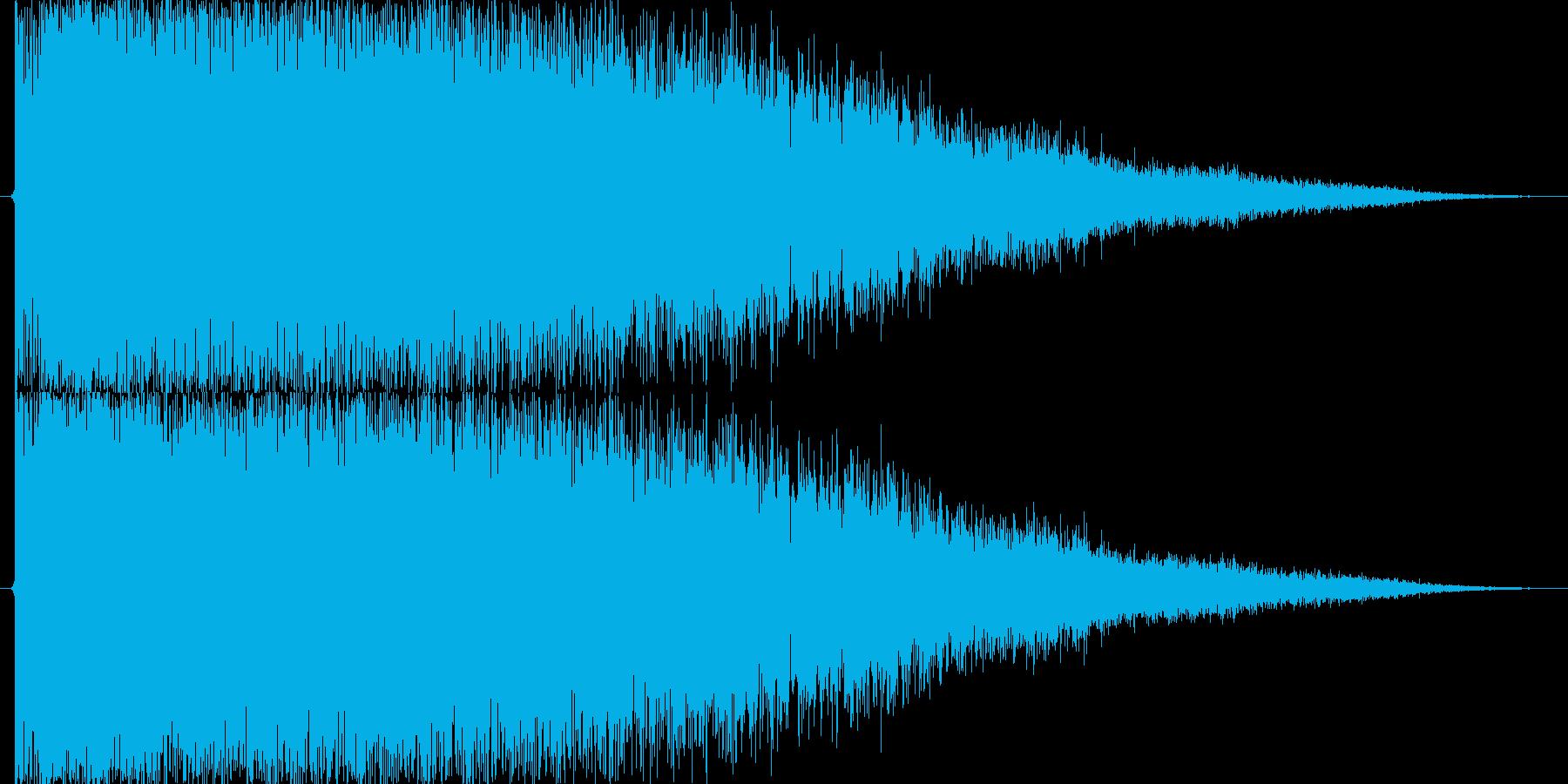 強_チャンスブラス系SE_01の再生済みの波形
