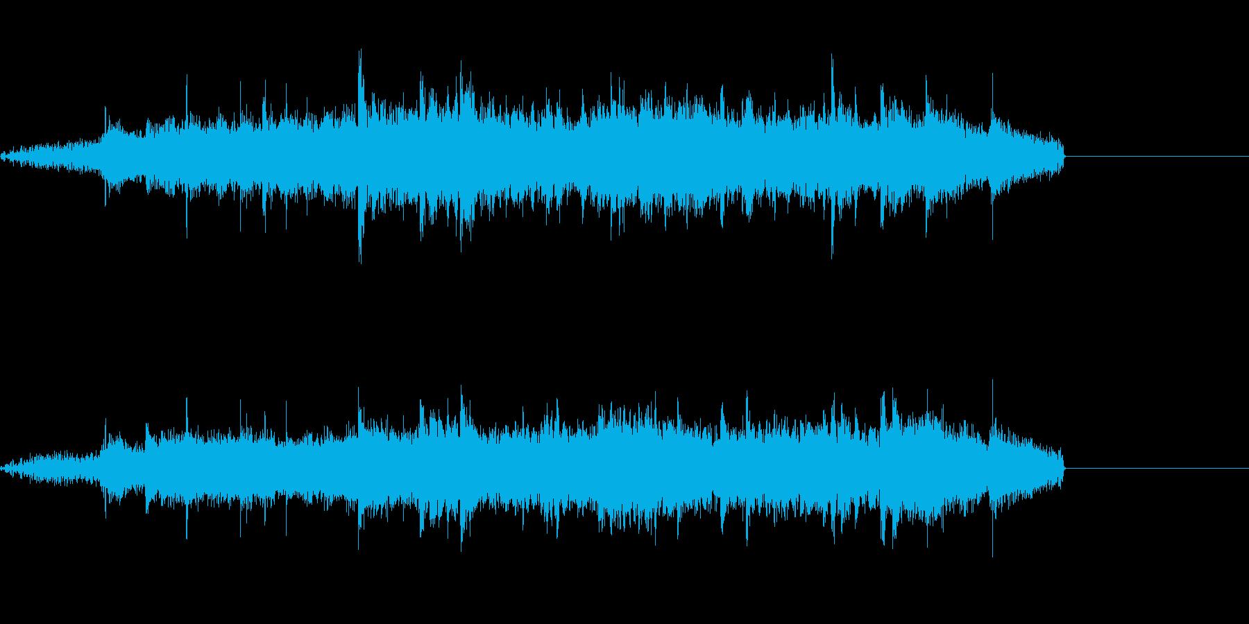 【SE 効果音】スクラッチの再生済みの波形