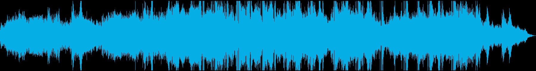 アルペジオで作る幻想的なエンディングの再生済みの波形