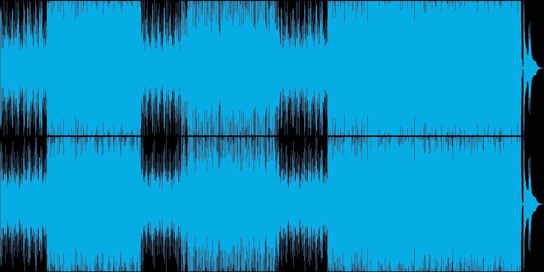 フルートメロ、少しハードで軽快なボサノバの再生済みの波形