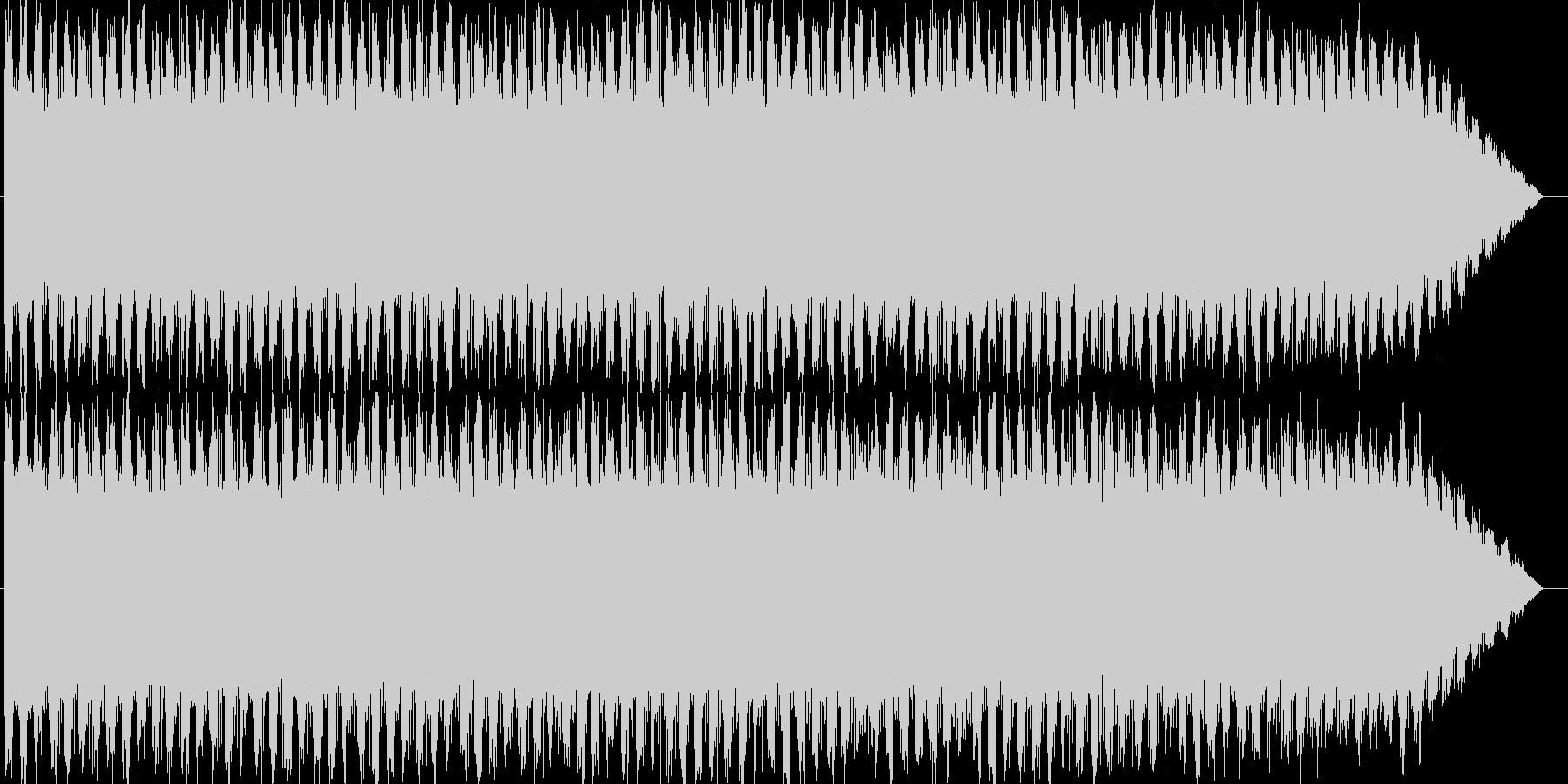 エマージェンシーサイレン タイプAの未再生の波形