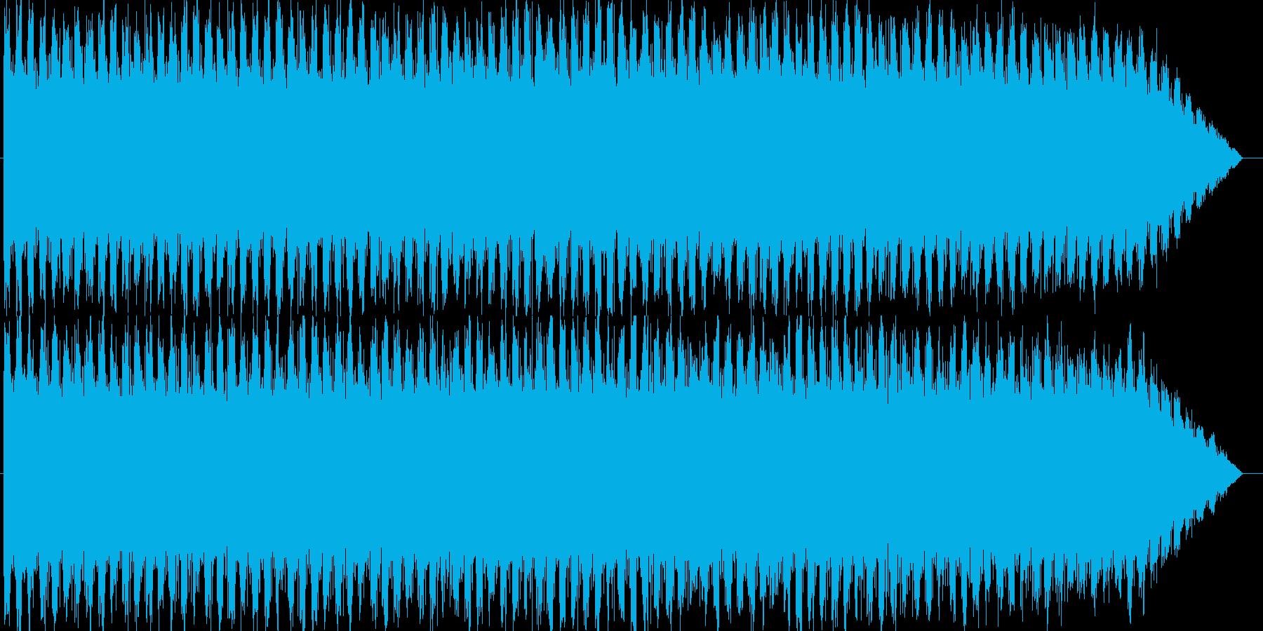 エマージェンシーサイレン タイプAの再生済みの波形