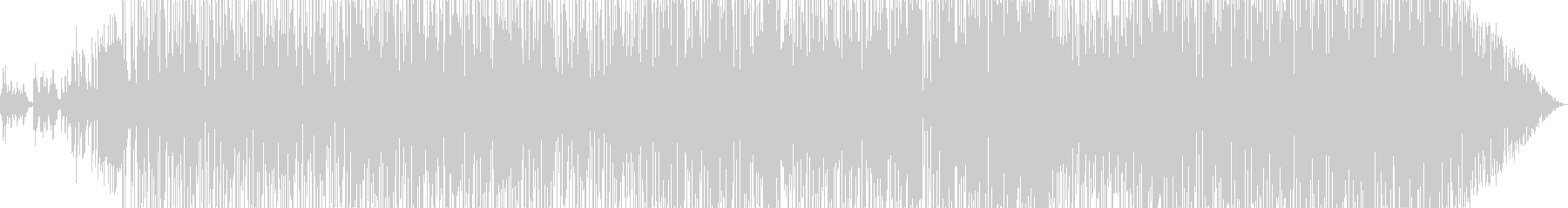 ゆったりとしたフレンチポップの未再生の波形