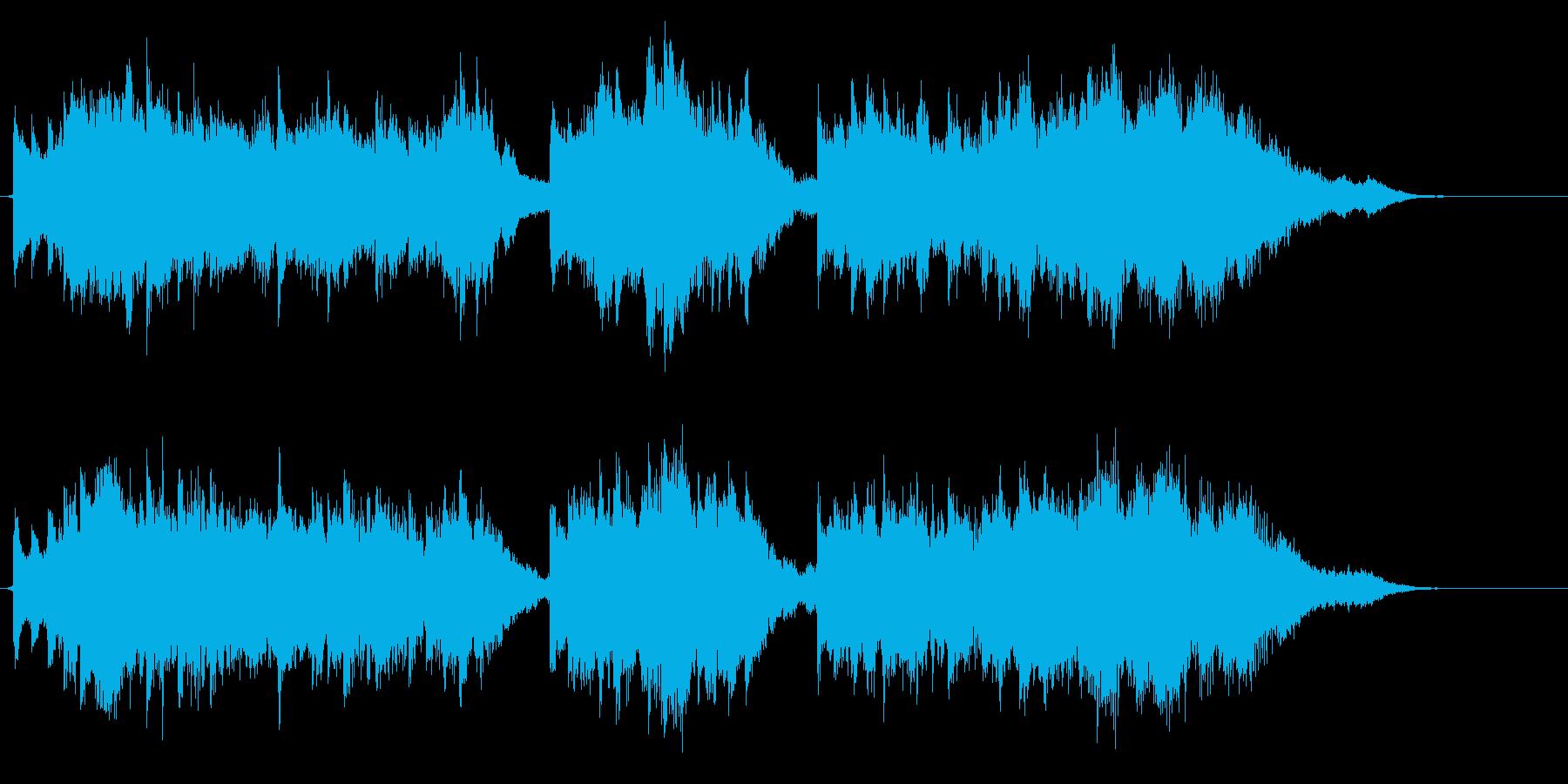 【オルゴール】幻想的なクリスマスソングの再生済みの波形