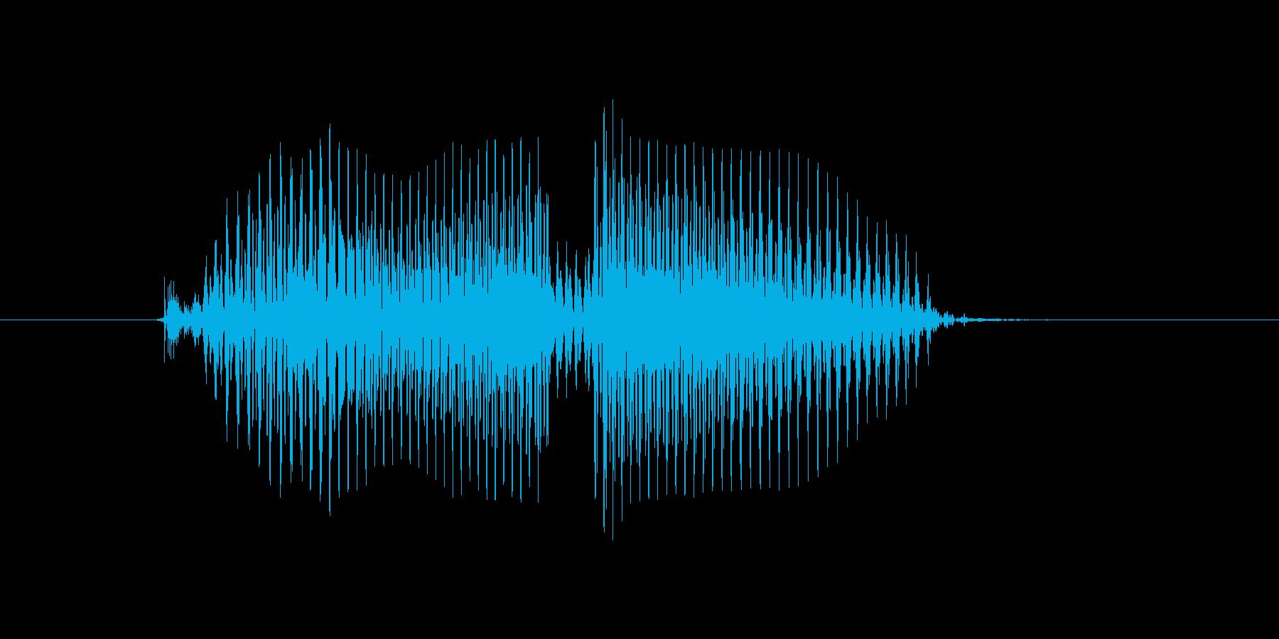 盗塁(とうるい)の再生済みの波形