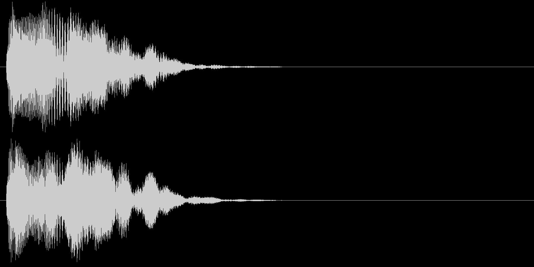 汎用 近未来系05(中) アラート表示の未再生の波形