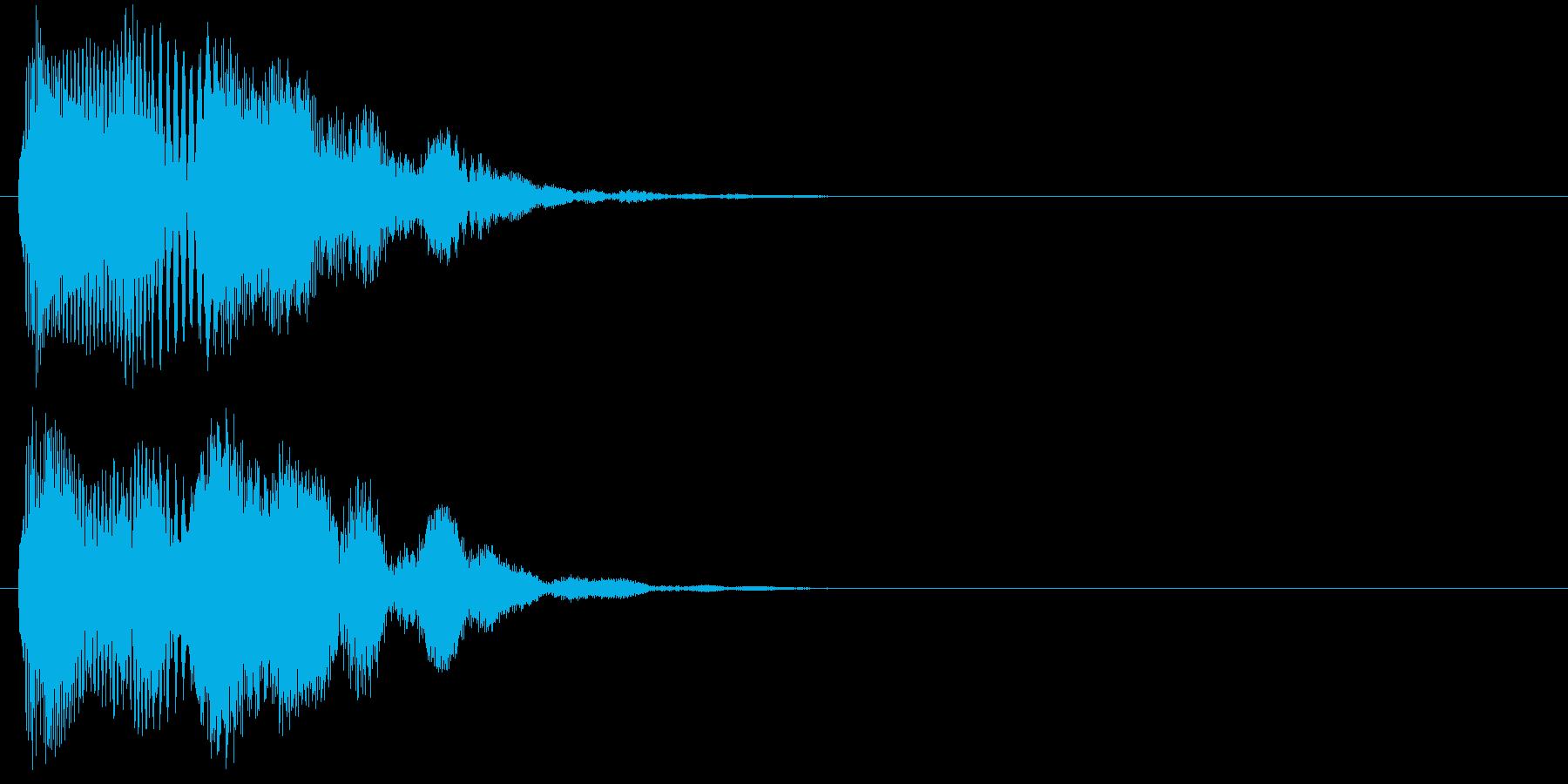 汎用 近未来系05(中) アラート表示の再生済みの波形