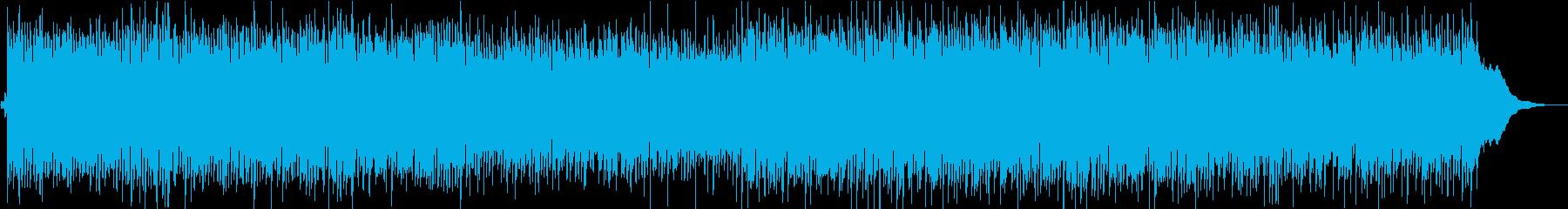 かわいらしくファンタジックな蜜柑の曲の再生済みの波形