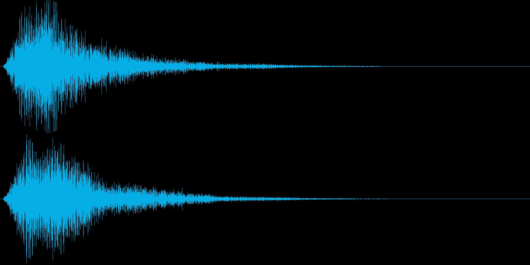 ジャン(厳かな)の再生済みの波形